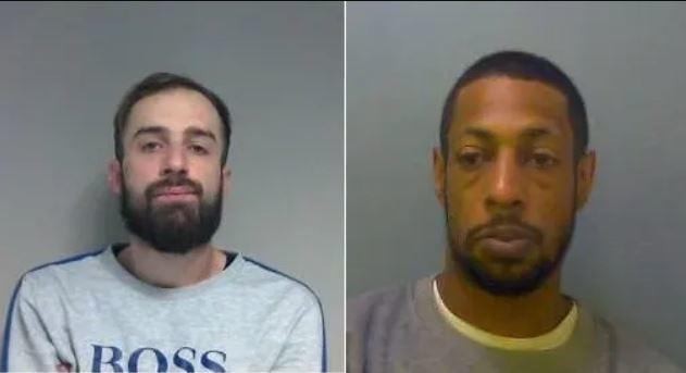 Declan Tye, aged 26, from Foliejohn Way, Cox Green, Maidenhead and Sebastien Ford, aged 36, from Basford Way, Windsor