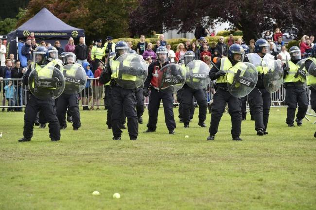 Police Open Day forced to close due to weather