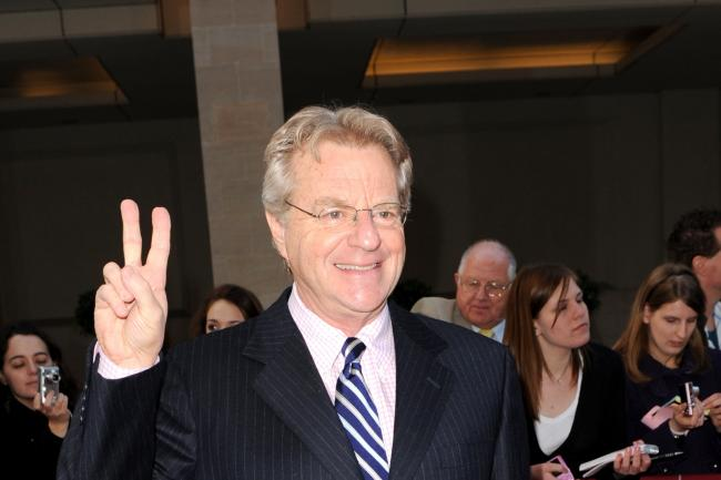 Jerry Springer will speak in Edinburgh (Zak Hussein/PA)