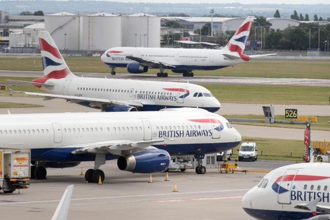 British Airways pilots strike