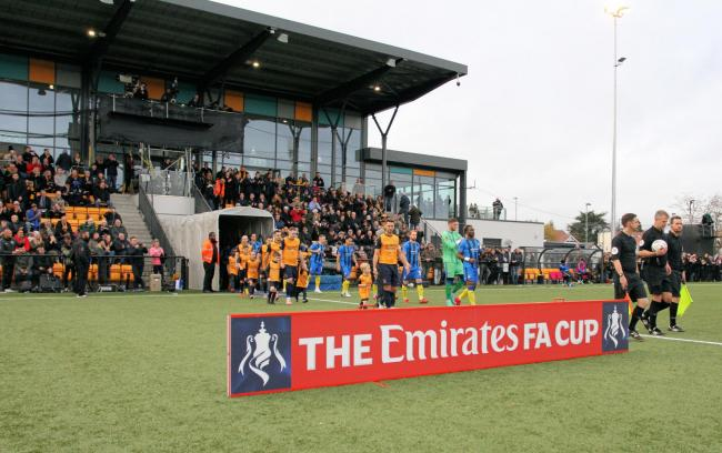 Slough Town suffered a narrow 1-0 defeat against Gillingham from the Football League in the second round proper of the FA Cup last season.