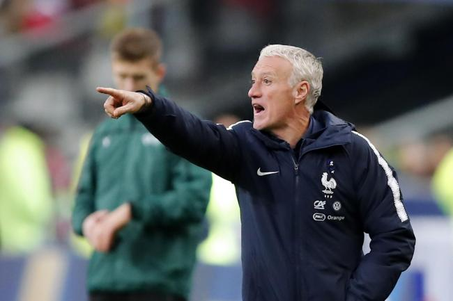 Didier Deschamps was disappointed with France's display