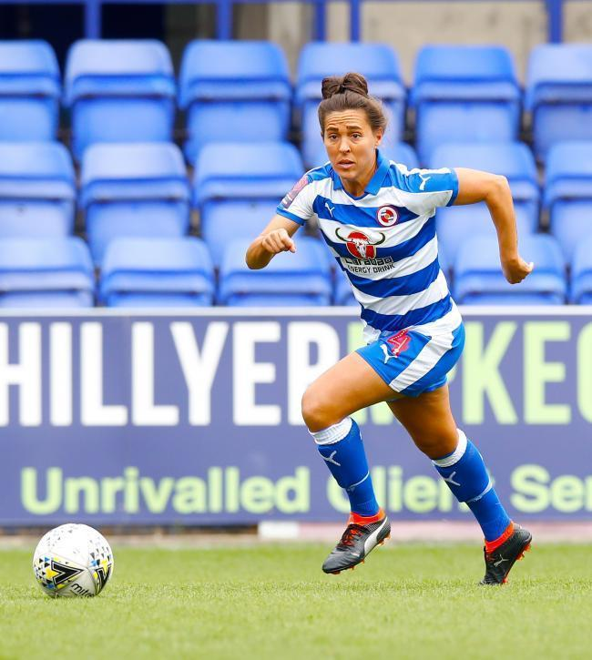 Fara Williams opened the scoring for Reading