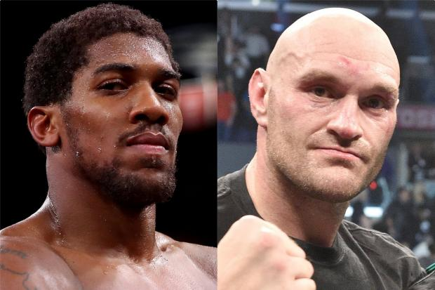 Calzaghe urges 'superstars' Joshua and Fury to get in ring and prove who's best