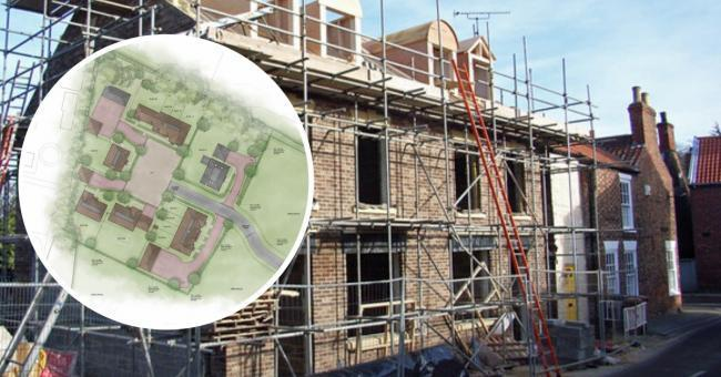 Moat Farm could see its existing buildings make way for twelve new homes.