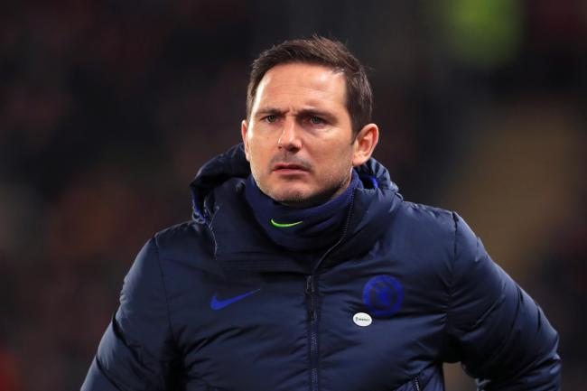 Frank Lampard's Chelsea lost to Manchester United on Monday