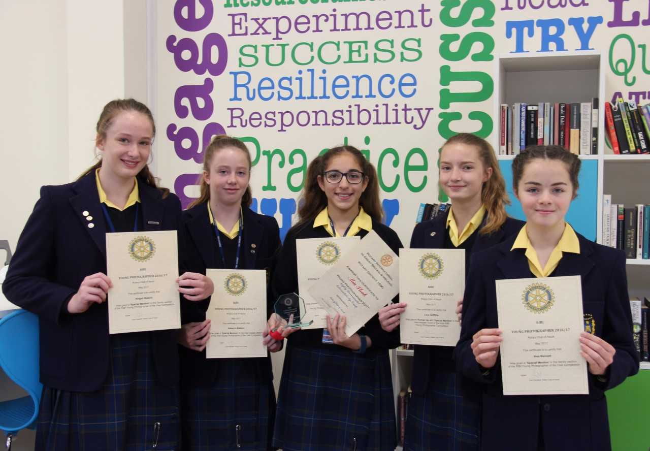 School students celebrate success at photography competition