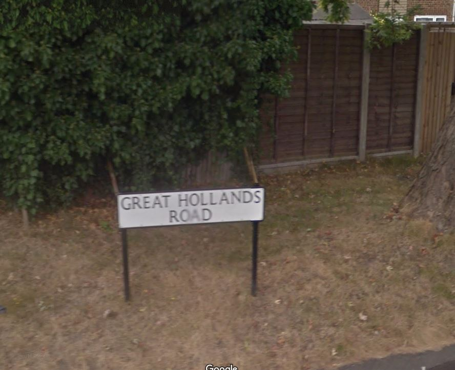 Head on collision in Great Hollands leaves young man in hospital