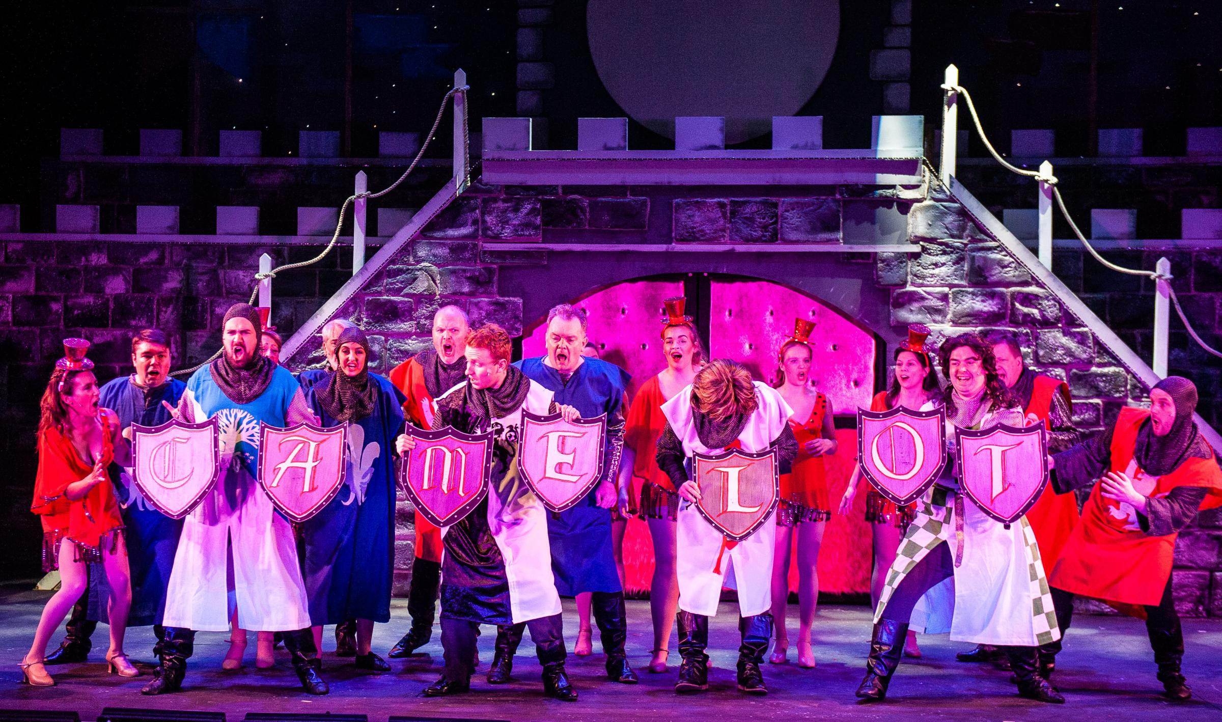 Spamalot. Credit: Alex Harvey-Brown