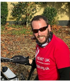Cycling across Costa Rica to help a charity support the battle against heart disease