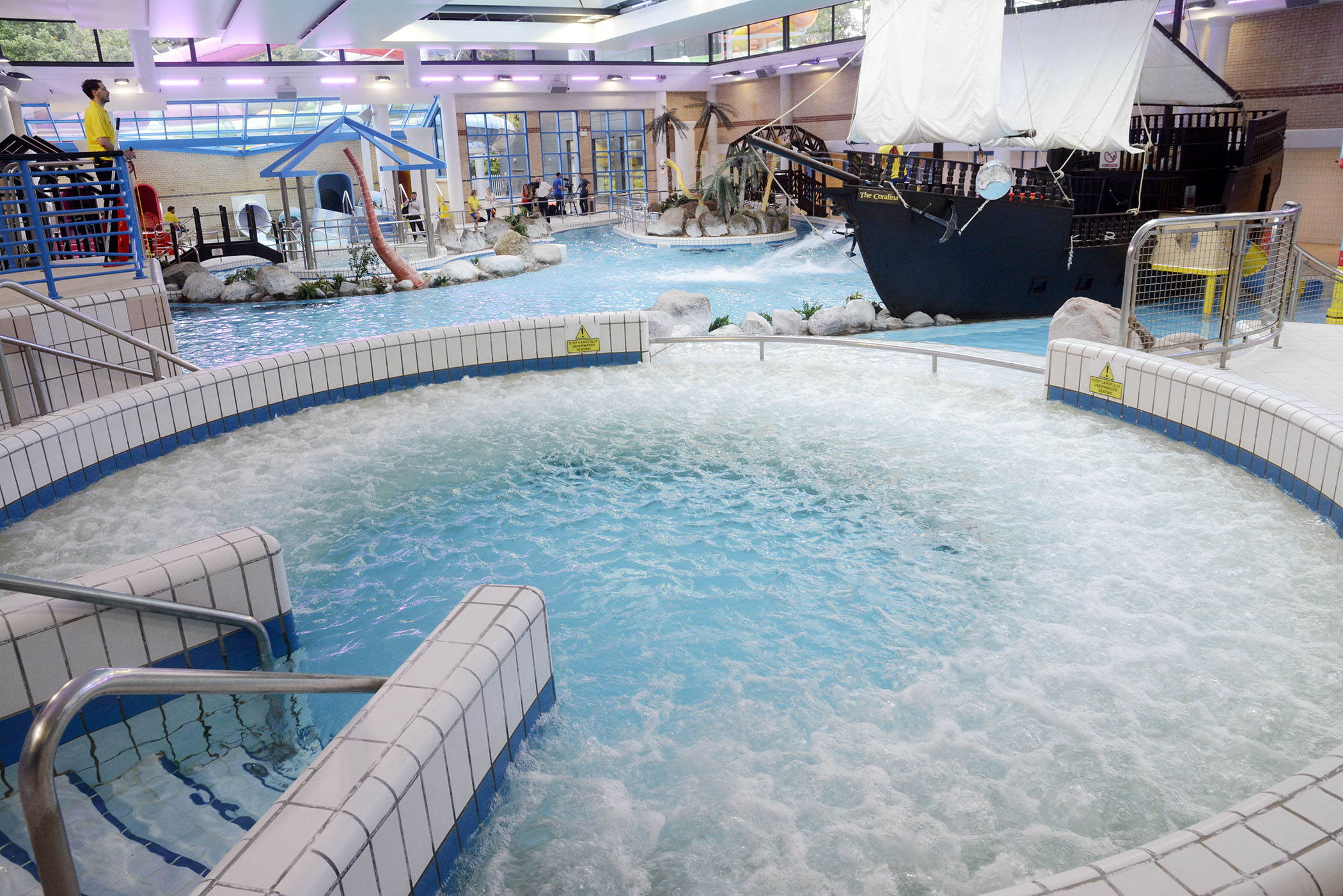 FLOODING HELL: Flumes shut down at Coral Reef after flood