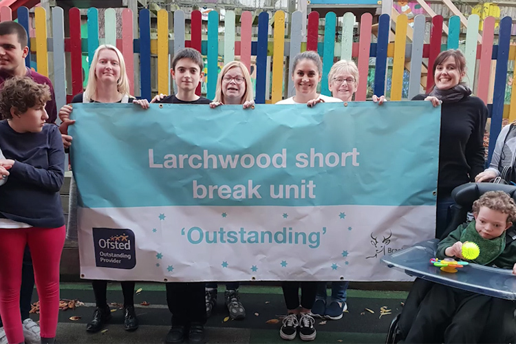 The respite care centre are celebrating their Outstanding report