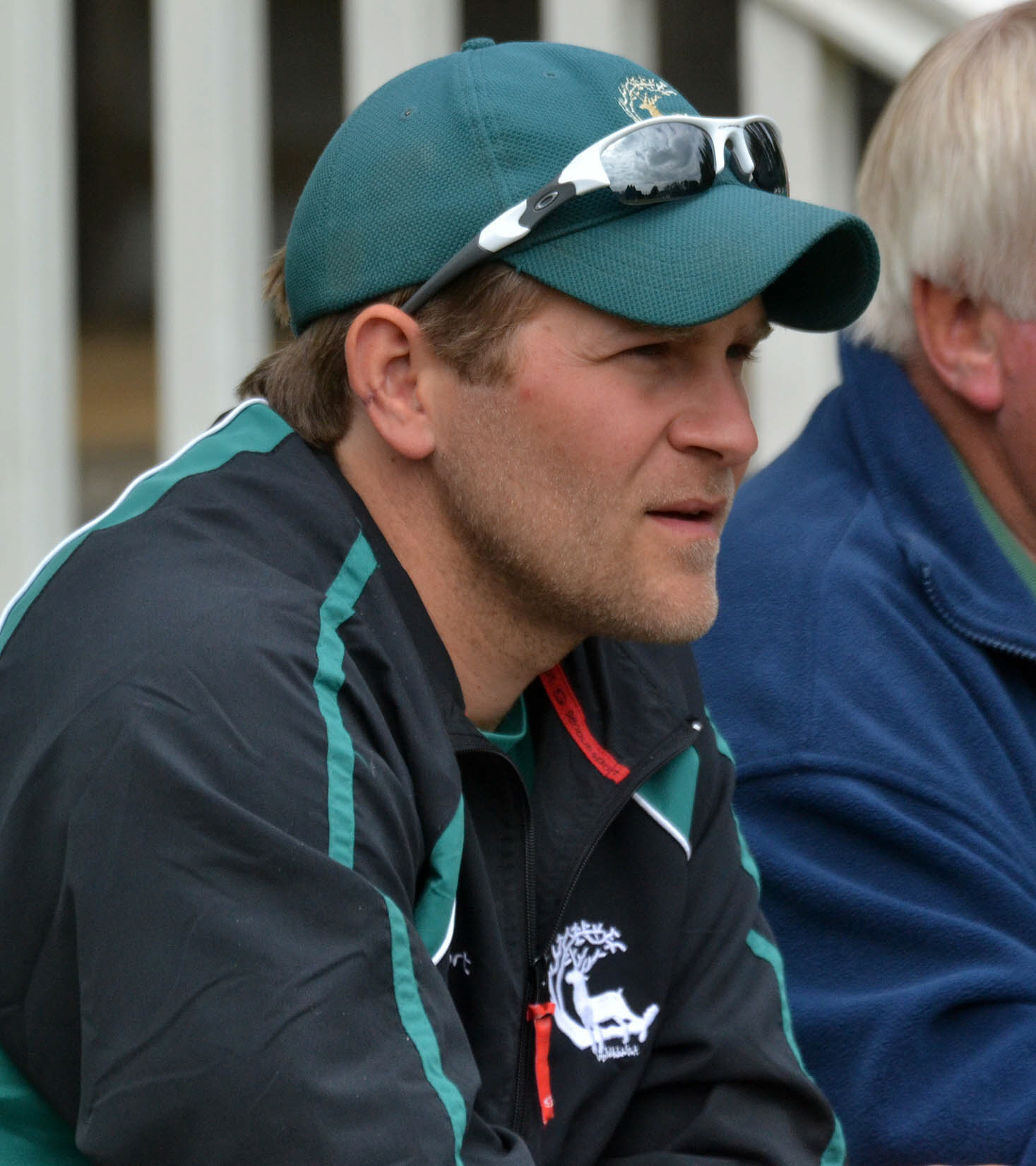 133345 Tom Lambert (Berks coach) at Berkshire vs Dorset Minor Counties cricket  Henley CC pic chris forsey 10/6/13.