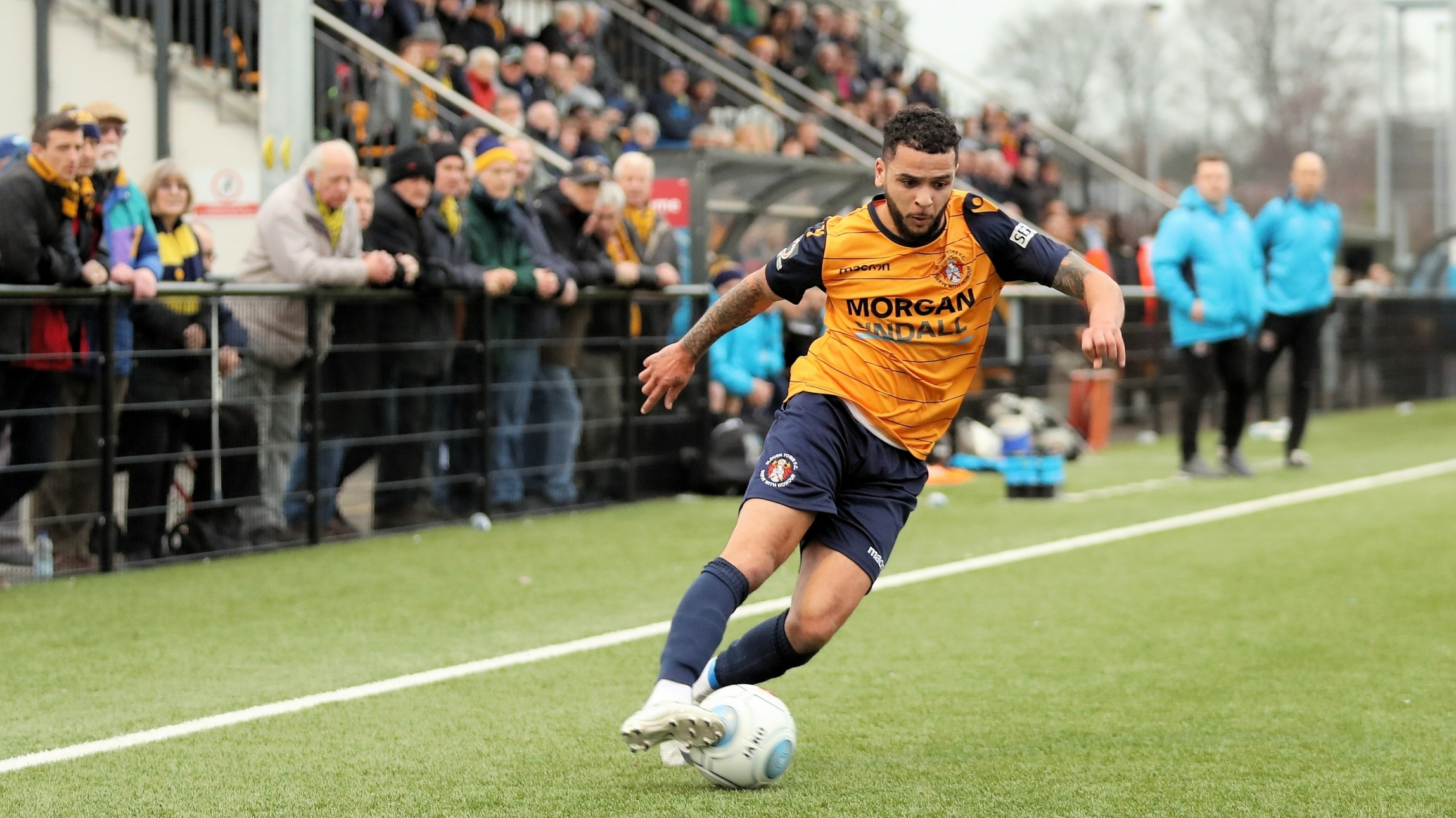Billy Clifford scored his first goal for Slough Town in the 1-0 win against Welling United at Arbour Park in the National League South on Saturday.